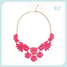Free Shipping Costume Fashion Colorful Alloy Heavy in Necklace