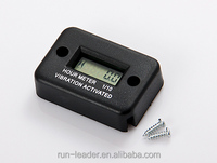Digital LCD Motorcycle Racing Wireless Vibration Hour Meter