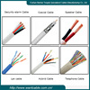 100 pairs twisted telephone cat3 cable
