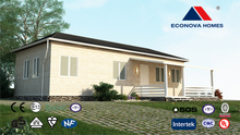 modular prefab luxury container house European standard prefabricated house with solar energy and intelligent system