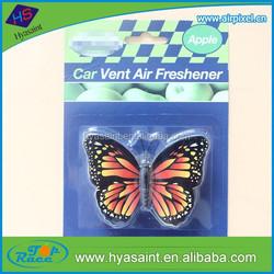 8 cm width custom rear view mirror butterfly air freshener for car