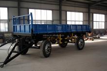 6000kg side dumping agricultural tractor trailer