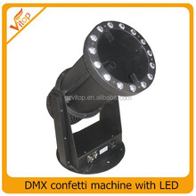 LED confetti machine, DMX control LED blower confetti machine
