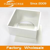 Factory wholesale 8 x 8 aluminum baking pan for the perfect gauge heat conducting