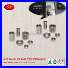 Dongguan custom high quality stainless steel spacers motorcycles,cnc turning steel parts for auto machines