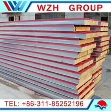 2014-2015 hot sale fiber glass sandwich panel for steel structure building fast install and fast delivery