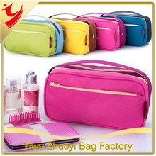 Multifunctional Men Travel Toiletry Cosmetic Bags in Polyester