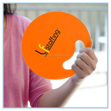 Hand fan custom LOGO printed PP fan Summer Portable plastic/pp fan