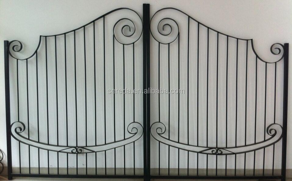 Ampliamente utilizado para el hogar y jard n adornos de - Puertas de hierro para jardin ...