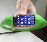 Unique combination bicycle lock remote control