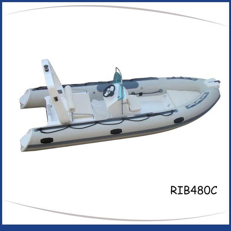 4.8M RIGID INFLATABLE BOAT RIB480C-6