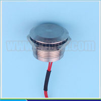 Machine tool 19mm PS19A Metal Pushbutton Switch push button mini switch on off