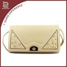 Newest famous design pu leather shoulder bag hobo handbag for women