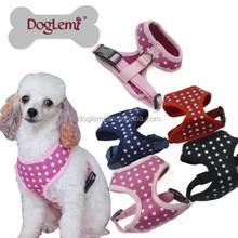 Trade Assurance DogLemi lovely pet/dog harnesses, small dog harnesses, dots dog harnesses