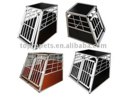 aluminium dog transport cage,dog cage,pet cage,aluminium dog transport box
