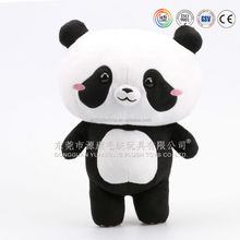 soft polyester patchwork stuffed toys/OEM custom soft toy factroy
