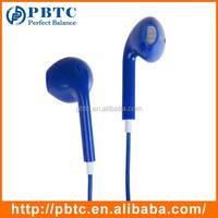 2015 Fashion With Remote , Mic Volume Control Blue Digit Headphone