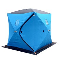 2015 new pop up fishing tent ice fishing shelter for 3 person