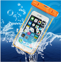 IPX8 Waterproof Diving Bag Glowing Swimming Mobile Phone Pouch Cases Cover for Samsung Galaxy Grand Prime G530