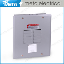 125 amp single phase 8 way outdoor electrical distribution box/panel box/load center