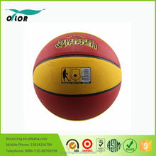 High quality laminated PU multicolor competetion basketballs