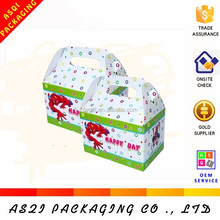 biodegradable color color printed super paper take away chicken box for scooter