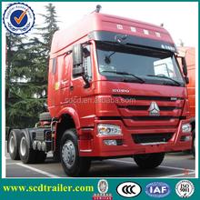 2015 371hp 10 wheel HOWO Tractor Truck 6*4 ZZ4257N3247