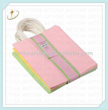 Shenzhen factory manufacture kraft paper shopping bag