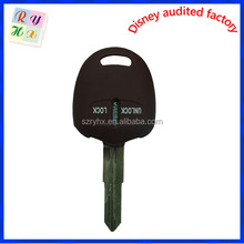 Car key case cover ,auto key holder,key shell for Mitsubishi Lancer Outlander Pajero ,auto accessories,10 colors optional