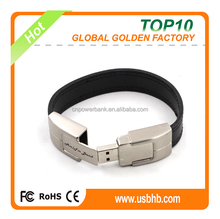 full capacity black wristbands usb storage drive from alibaba supplier