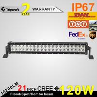 120w top quality top brightness illuminator led light bar for auto truck suv offroad