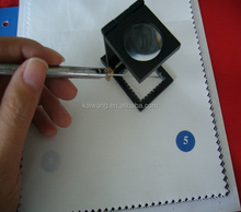 T/C 65/35 polyester cotton plain style white pocket Chinese textile
