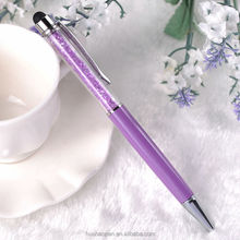 Touch ballpen with crystal/metal stylus pen with crystal/Stylus Ball Pen