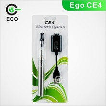 Best selling long wick colorful vapor ego ce4