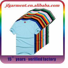 Promotional custom new design high quality plain white t shirt for election campaign