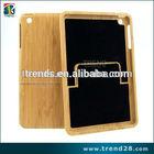 destacável aplicada real de madeira de bambu caso para o ipad mini