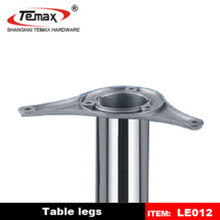 Promotional wood top table metal leg