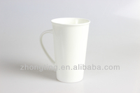 Guangzhou Custom Ceramic Mugs White Stuff Discount Antiques Porcelain Chinese Household 500ml 17oz CE Approvals C-02 Middle