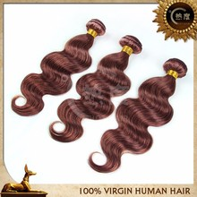New products!!! Human hair weave color 33# brazilian body wave aliexpress hair