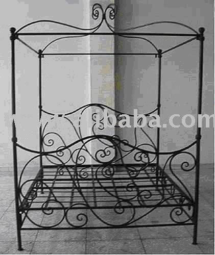 wrought iron four poster bed frames buy iron four poster