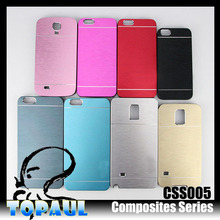 stainless steel sheet finish brushed phone case for zte grand x max z787