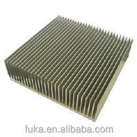 Customized high precision extruded aluminum heatsinks enclosure