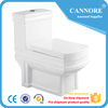 New Design One Piece Water Closet With Slowly Down Seat Cover