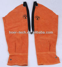 welding protection leather sleeve