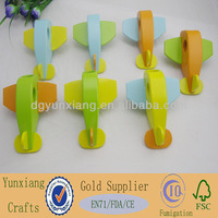 Colored Wooden Toy Plane, Wooden Airplane