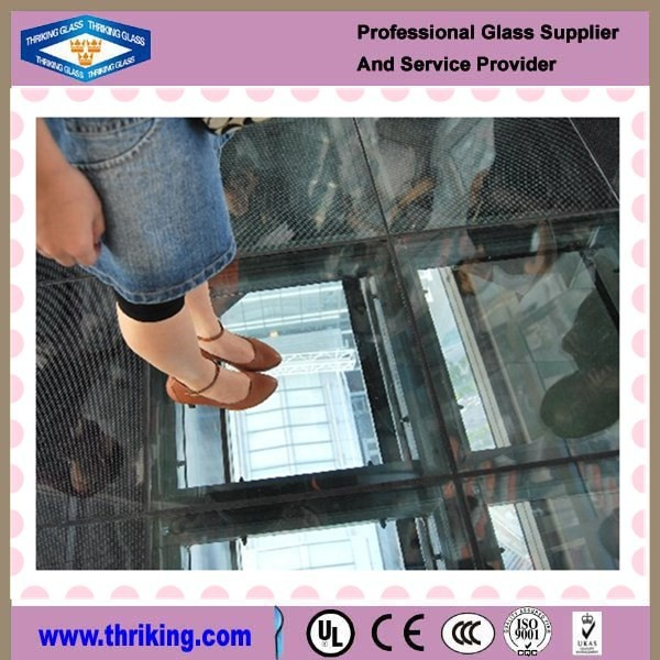 Laminated Glass Flooring Service : High quality safe tempered laminated glass floor buy