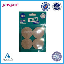 2015 hot sales!!!!China manufacturer supply best selling furniture EVA felt pads for chair ,floor