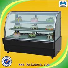 Black marble cake shop equipment
