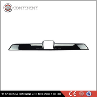 car accessories stainless steel tailgate molding covers for 2009 CRV