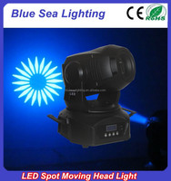 Professional China cheap gobo spot 60w led moving head lights used for bar